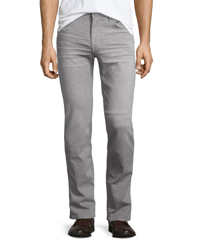 Brixton Kinetic Denim Slim-Straight Jeans, Wolfe (Gray)