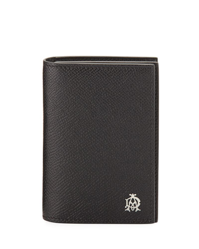 Cadogan Business Card Case, Black