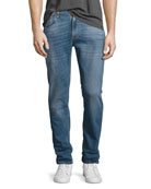 Lean Dean Stretch-Denim Skinny Jeans, Indigo