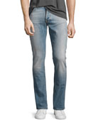 Grim Tim Slim-Straight Jeans, Light Blue