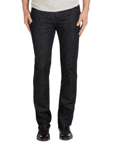 Kane Clean Wash Straight-Leg Denim Jeans, Hirsch