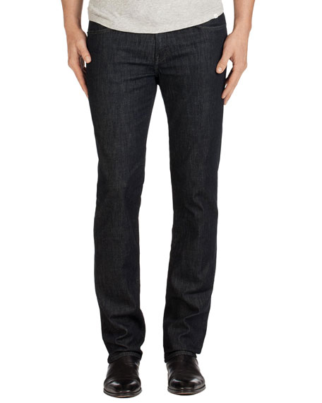 J Brand Men's Kane Ultra Lightweight Clean Wash Straight-Leg Jeans, Hirsch