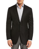 Solid Wool Blazer