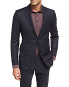 Check Trofeo® Wool Two-Button Sport Coat