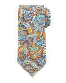 Quindici Paisley Tie, Rust