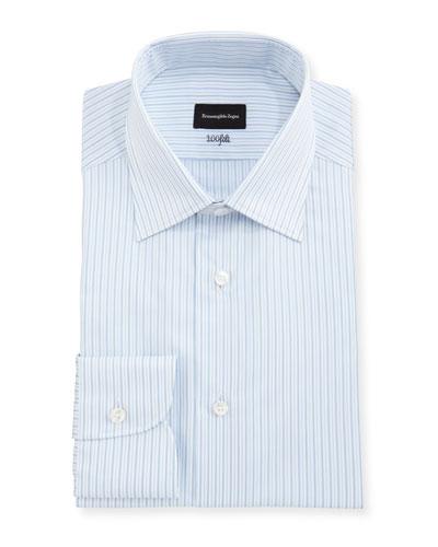 Blue White Designer Dress Shirt | Neiman Marcus