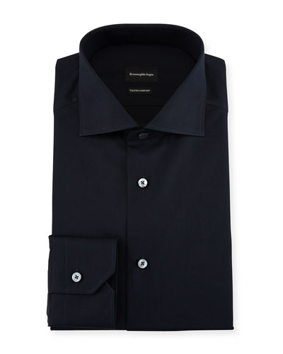 Trofeo® Comfort Dress Shirt, Navy
