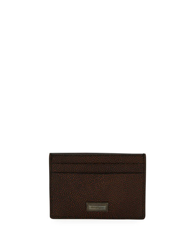Ten Forty One Leather Card Case, Brown