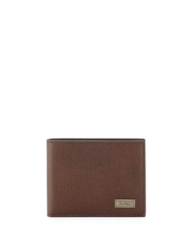 Ten Forty One Leather Bi-Fold Wallet, Brown