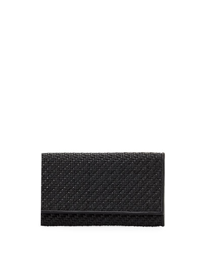 Pelle Tessuta Woven Leather iPhone 7 Wallet
