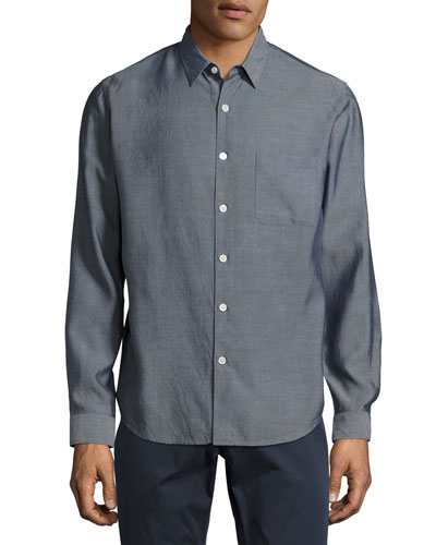 Rammy Pocket Sport Shirt, Indigo