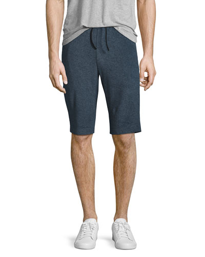 Moris French Terry Sweat Shorts, Marine Blue