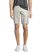 Jake W. Reverse Sateen Tailored Shorts