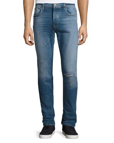Men's Sartor Slouchy Skinny Denim Jeans, Blue