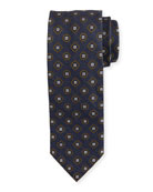 Medallion Textured Ground Tie