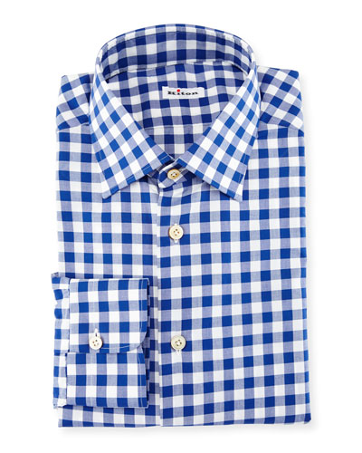 Buffalo-Check Dress Shirt