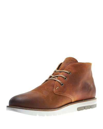 Gibson Lugged-Sole Chukka Boot, Amber