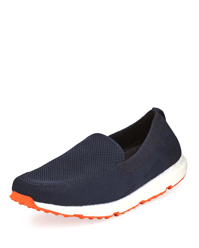 Breeze Leap Knit Boat Shoe, Navy