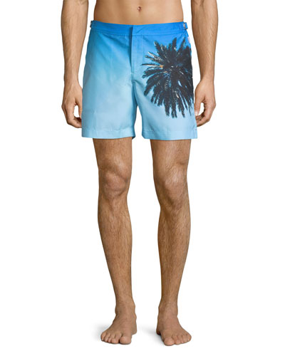 Bulldog Palm Reacher Swim Trunks