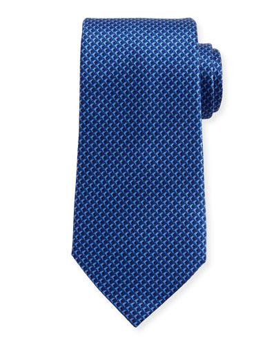 Tonal 3D Diamond Tie, Navy