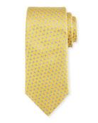 Neat Boxes Silk Tie