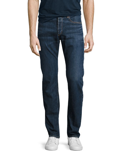 Standard Issue Fit 3 Loose-Fit Straight-Leg Jeans, Dukes (Medium Blue)