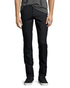 Men's Luxe Performance Slimmy Slim Jeans, Deep Well (Dark Blue)