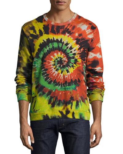 Tie-Dye Sweatshirt, Multicolor