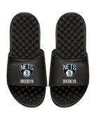ISlide Men's NBA Brooklyn Nets Primary Slide Sandals