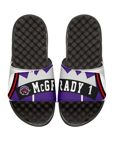 NBA Retro Legends Tracy McGrady #1 Jersey Slide Sandal, White