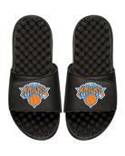 NBA New York Nicks Primary Slide Sandal, Black