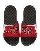 NBA Retro Legends Scottie Pippen #33 Jersey Slide Sandal, White