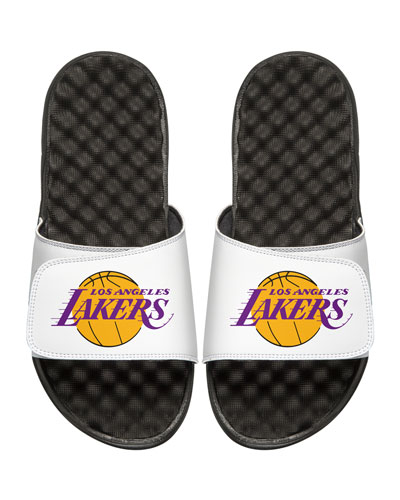 NBA Los Angeles Lakers Primary Slide Sandal, White