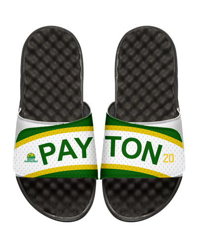 NBA Retro Legends Gary Payton #20 Jersey Slide Sandal, White