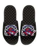 NBA Hardwood Classics Toronto Raptors Slide Sandal, Black