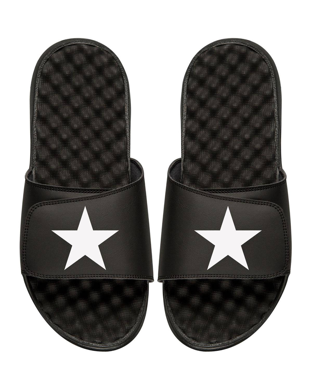 Star Slide Sandal, Black