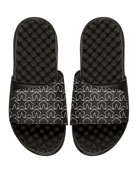 Star Outline Slide Sandal