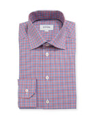 Mini-Check Dress Shirt
