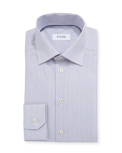 Ground Striped Dress Shirt