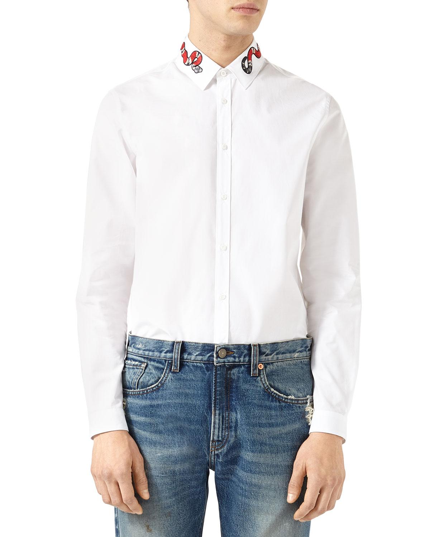 04ff38196 gucci long sleeved shirts shirts for men - Buy best men's gucci long  sleeved shirts shirts on Cools.com Shop