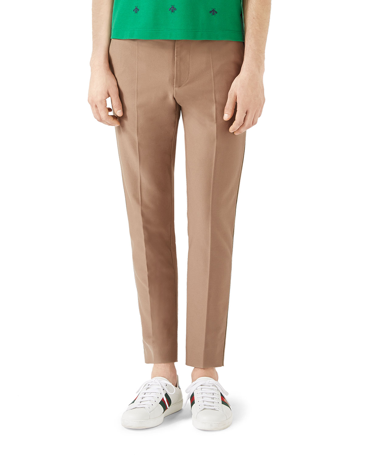Tipped Cotton Chinos