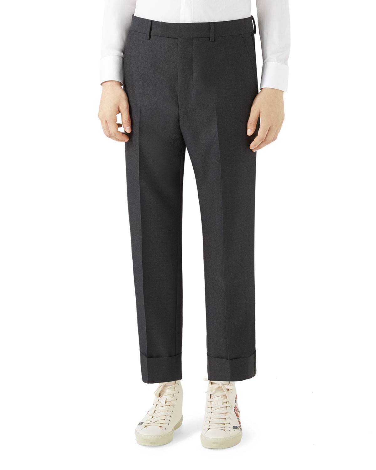 Tailored Wool Mohair Pants