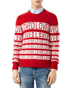 Wool Loved Jacquard Sweater