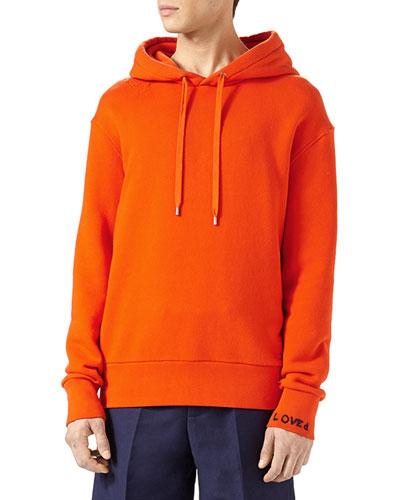 Hollywood Parakeet Cotton Sweatshirt