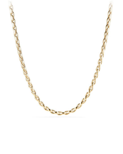 Men's 18k Box Chain Necklace, 26