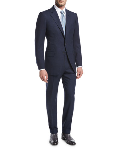 O'Connor Base Wool-Silk Two-Piece Suit