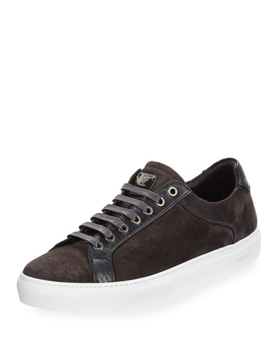 Suede Low-Top Sneaker