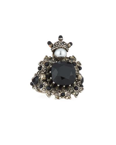 House of Skull Swarovski® Crystal Ring