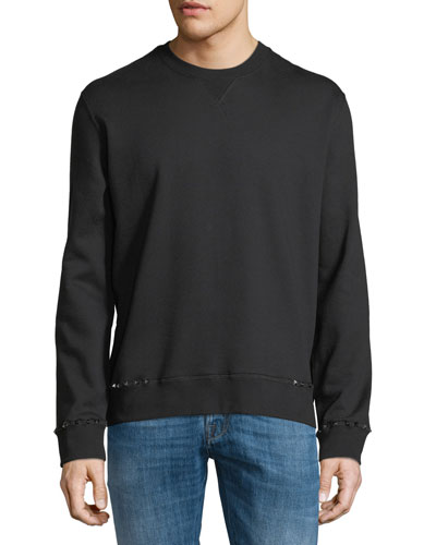Rockstud Untitled Fleece Sweatshirt