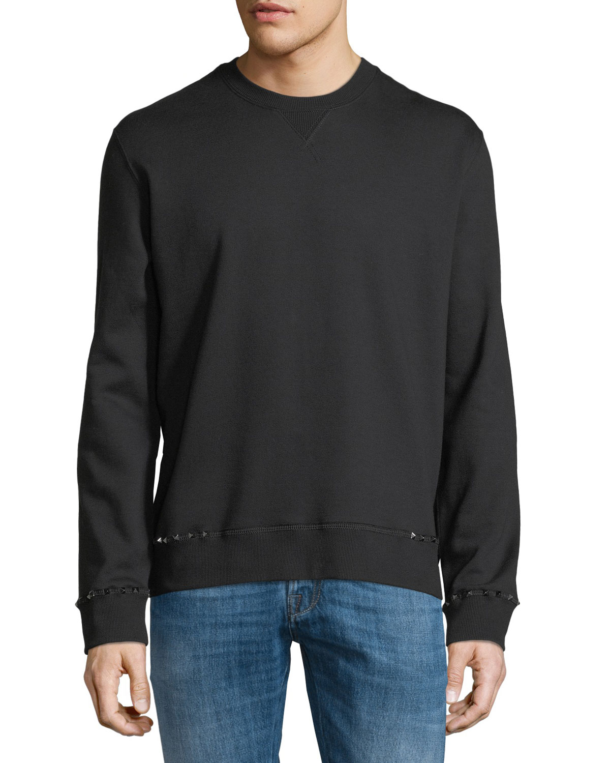 Rockstud Untitled Fleece Sweatshirt